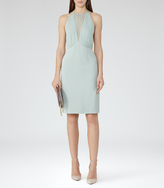 Reiss Kite HALTERNECK DRESS