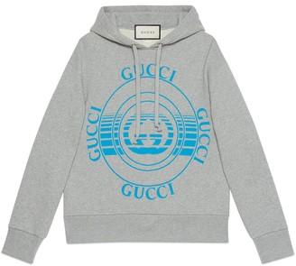 Gucci disk print oversize sweatshirt