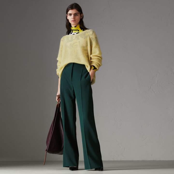 Burberry Mohair Silk Blend Sweater