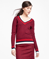 Brooks Brothers Merino Wool Tennis Sweater