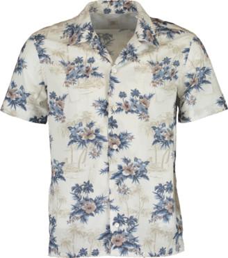 Eleventy Floral Bowling Shirt