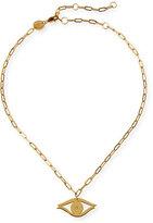 Jennifer Zeuner Jewelry Burke Evil Eye Choker Necklace
