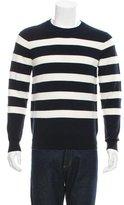 Lad Musician Striped Crew Neck Sweater