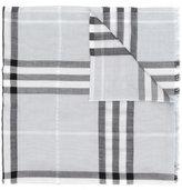 Burberry Check scarf - women - Silk/Viscose/Wool/Metallic Fibre - One Size