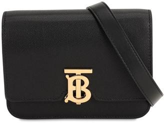 Burberry Mini Tb Leather Shoulder Bag
