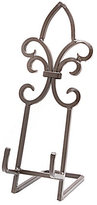Pomeroy Collection Dartmouth Metal Fleur-de-Lis Easel Cookbook Holder