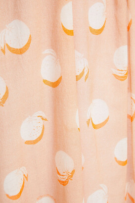 Stella McCartney Embellished Printed Cotton-chiffon Midi Dress