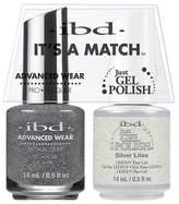 "IBD Advanced Wear - ""It's A Match"" Duo - Silver Lites - 14ml / 0.5oz Each"