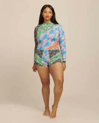 Cynthia Rowley Daybreak Mixed Floral Wetsuit