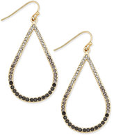 INC International Concepts Gold-Tone Ombré Stone Open Teardrop Earrings, Only at Macy's