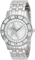 Thierry Mugler Women's Silver-Tone Stainless Steel dial