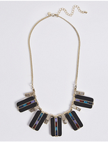 M&S Collection Resin Overlay Necklace