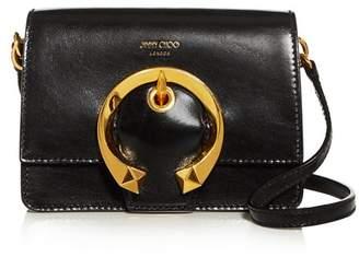 Jimmy Choo Madeline Small Leather Shoulder Bag