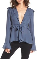 Stone_Cold_Fox Women's Stone Cold Fox Connery Silk Blouse