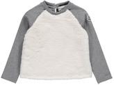 Moncler Faux Fur Sweatshirt