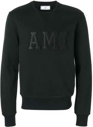 Ami Paris Sweatshirt Patched Letters