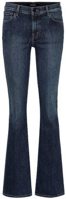 J Brand Sallie high-rise flared jeans