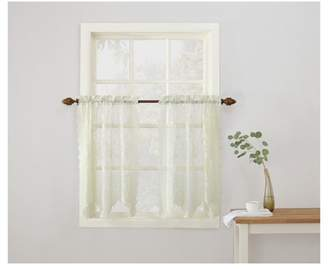 No. 918 Alison Sheer Lace Kitchen Curtain Valance, Tiers, and Swags