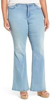 NYDJ Farrah Stretch Flare Leg Jean (Plus Size)