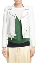 Toga Women's Crop Leather Jacket