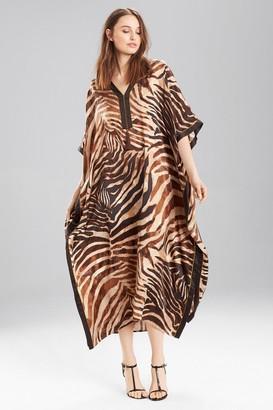 Natori Zebra Caftan