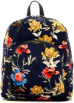Lucky Brand Anne Floral Velvet Backpack