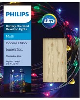 Philips 30 ct Dewdrop Fairy String Lights- Multicolored