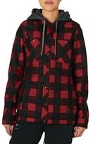 Volcom Snow Jackets Circle Flannel Jacket - Red