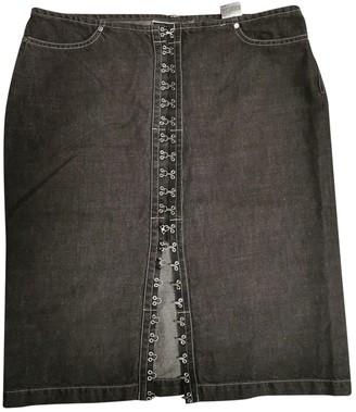 Sportmax Black Denim - Jeans Skirt for Women