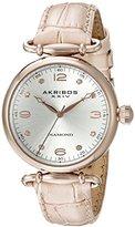 Akribos XXIV Women's AK878NU Stainless Steel Watch with Pink Strap