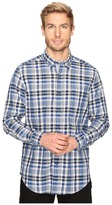 Nautica Long Sleeve Medium Plaid Poplin