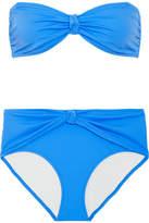 Solid and Striped The Whitney Bandeau Bikini - Azure