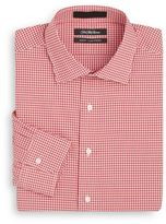 Slim-Fit Gingham Cotton Dress Shirt