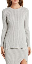 BCBGeneration Rib Crewneck Tunic Sweater