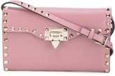 Valentino Rockstud cross body bag - women - Calf Leather/metal - One Size