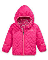 The North Face Baby Girls' Reversible Perrito Hooded Jacket