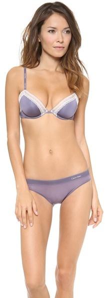 Calvin Klein Underwear Second Skin Bikini Briefs