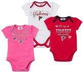 Gerber Baby Atlanta Falcons 3-Pack Bodysuit