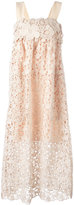 Chloé floral lace sun dress - women - Silk/Cotton/Polyester - 36
