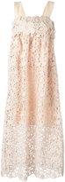 Chloé floral lace sun dress - women - Silk/Cotton/Polyester - 36