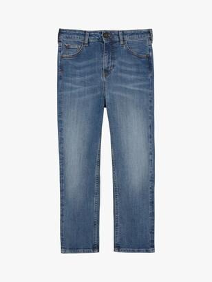 Fat Face FatFace Hertford Skinny Capri Jeans, Light Wash