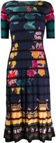Etro floral-print midi dress