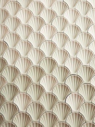 Fornace Brioni Rocaille Tile Wall Decor