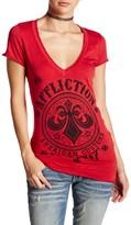 Affliction Battlefield Short Sleeve V-Neck Tee