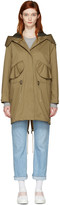 Burberry Tan Chiltondale Military Parka