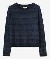 Toast Fine Merino Jacquard Sweater