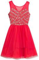 Rare Editions Embellished-Bodice Dress, Little Girls