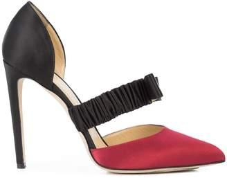 Chloé Gosselin bow front stiletto pumps