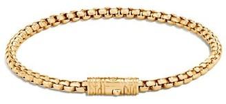 John Hardy Classic Chain 18K Yellow Gold Box Chain Bracelet