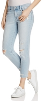 J Brand Sadey Straight Jeans in Superstar Destruct